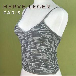 NWT Herve Leger Paris - Stretchy Tank Top  - Small